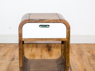 See this Wooden Side Table in your home? This piece is a great addition for any home needing some extra storage. Hurry Whilst Stock Last.