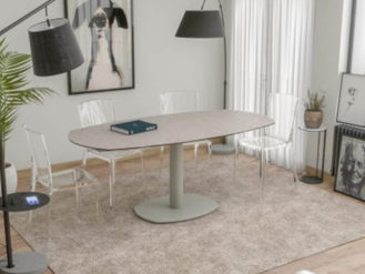 Complete your Dining Room with this beautiful Dining Table Artica Base piece.The piece is guaranteed to fit any contemporary setting with its sleek design.