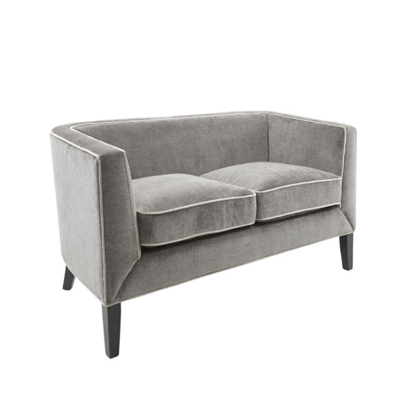 See the Atina 2 Seater Sofa in your seating collection? This piece brings an overall clean and bold statement to any interior setting.