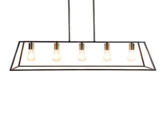 See the Black Industrial Frame Pendant Ceiling Light in your collection?This unique piece exudes excellence with its rustic industrial design and shape.