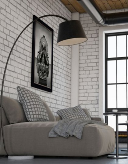 See the Antalia Light in your homes lighting collection? This piece is the perfect addition to any interior setting with its curved stand and shade.